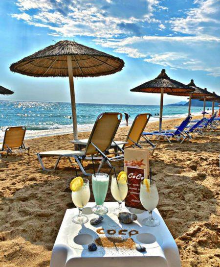 Cafe Coco am Vrachos Beach